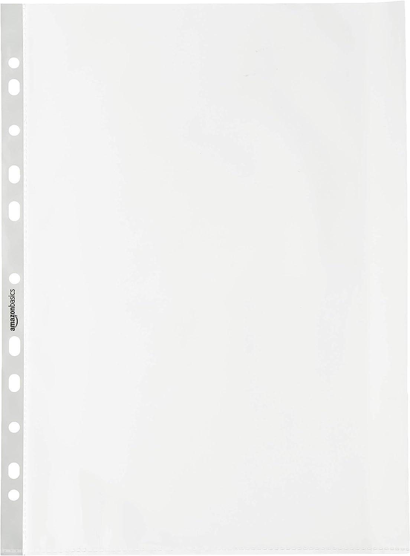 AmazonBasics - Funda multitaladro premium, 80 micras (lote de 100)