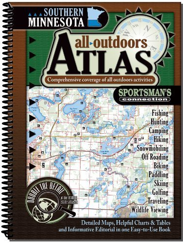 Southern Minnesota all-outdoors Atlas by Sportsman & 039;s Anschluss