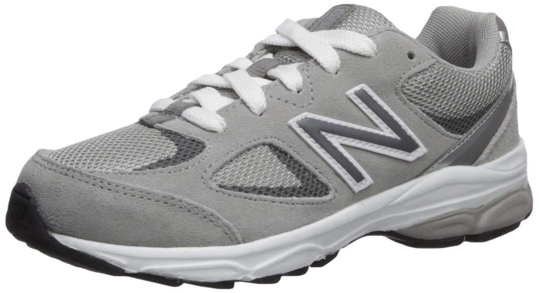 New Balance Boys' 888v2 Running Shoe, Grey, 10 M US Toddler