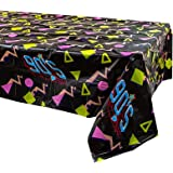90s Party Tablecovers (2), Throwback Birthday Party Supplies, 90s Decorations, 90s Birthday Party, Table Setting