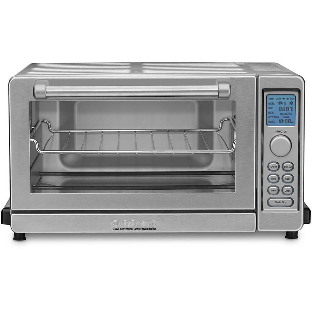 Cuisinart TOB-135 Deluxe Convection Toaster Oven Broiler, Brushed Stainless (Certified Refurbished)