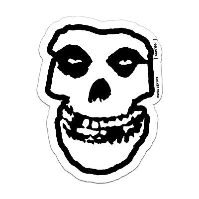 "Misfits SKULL danzig car bumper sticker decal 4"" x 5"": Automotive"