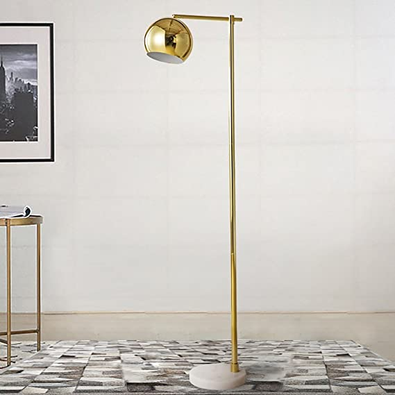 Amazon.com: Floor lamps American electroplating Marble base ...