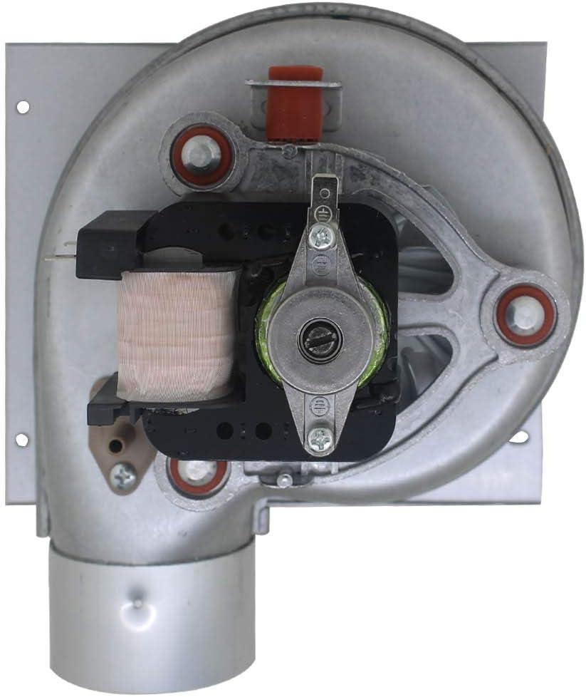 Ventilador caldera biomasa 220v extractor radial ventilador centrifugo estufa pellets extractor humos chimenea industrial