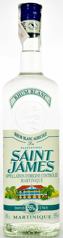 SAINT JAMES RON BLANCO 55% 100 cl: Amazon.es: Alimentación y ...