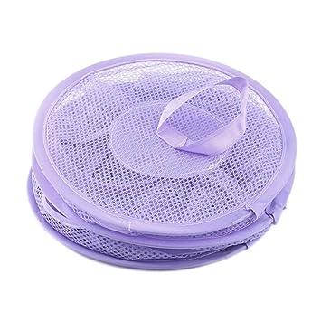 ... de malla para colgar (3 compartimentos, ideal para mantener las habitaciones limpias, organizadas y sin embrague), color morado: Amazon.es: Bebé
