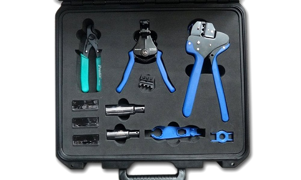 Amphenol Industrial H4TK0000 Tool Kit for Field Installation Service by Amphenol