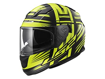 Casco LS2 Stream Bang negro / amarillo (L)