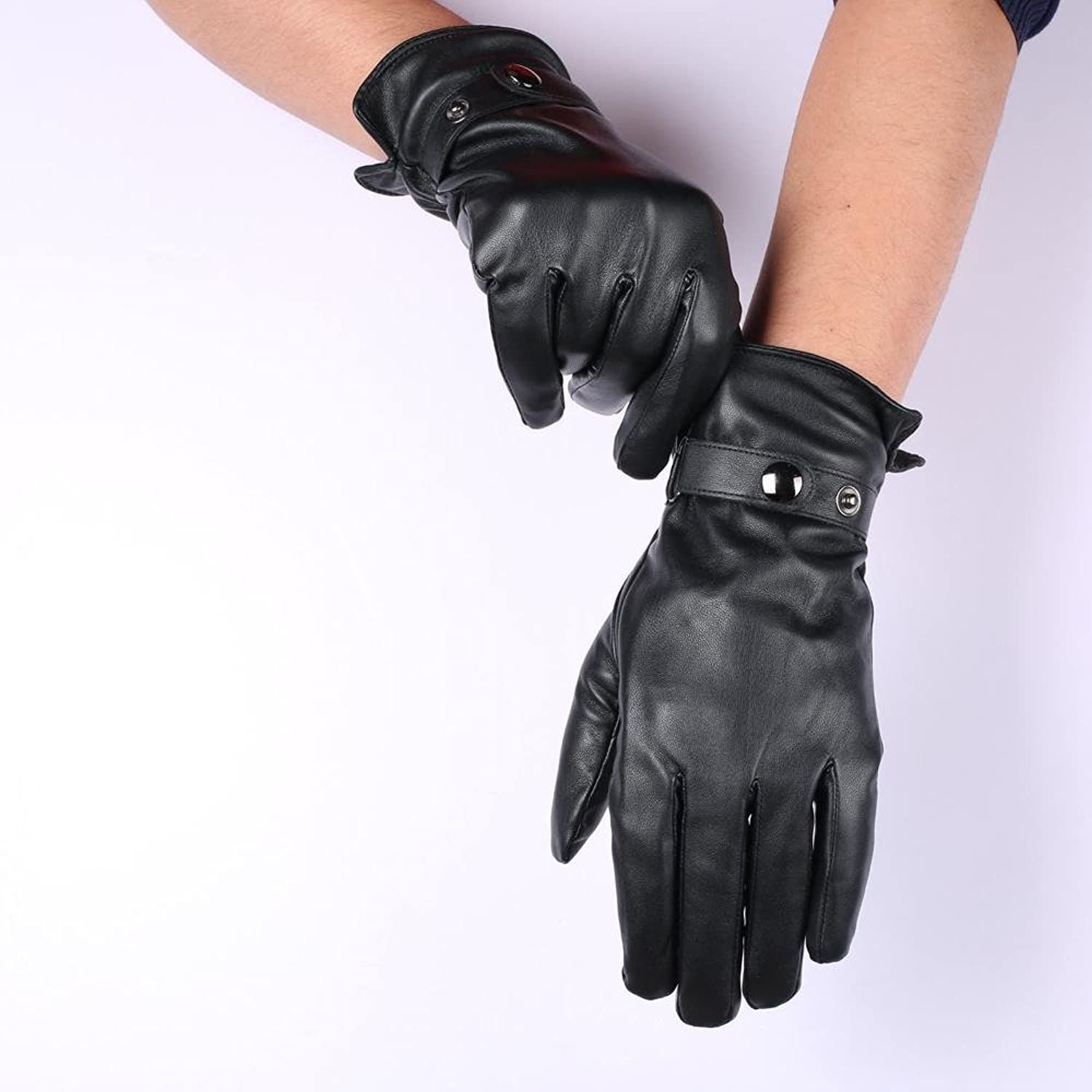 Fake leather driving gloves - Hot Sale Anccion Mens Touchscreen Texting Winter Warm Dress Pu Faux Leather Driving Gloves