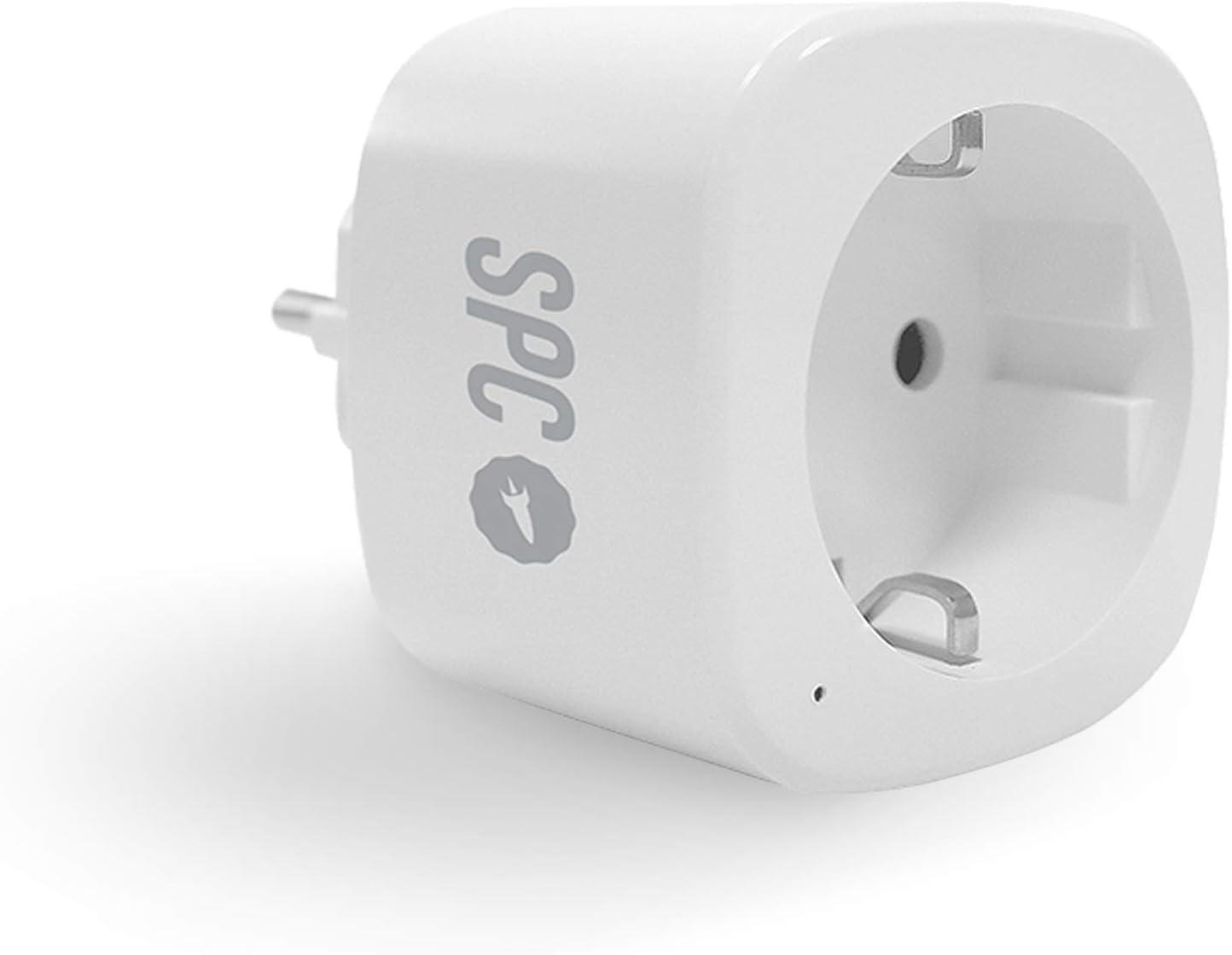 SPC Clever Plug Mini - Enchufe Inteligente Wi-Fi Compatible con Amazon Alexa y Google Home: Amazon.es: Electrónica