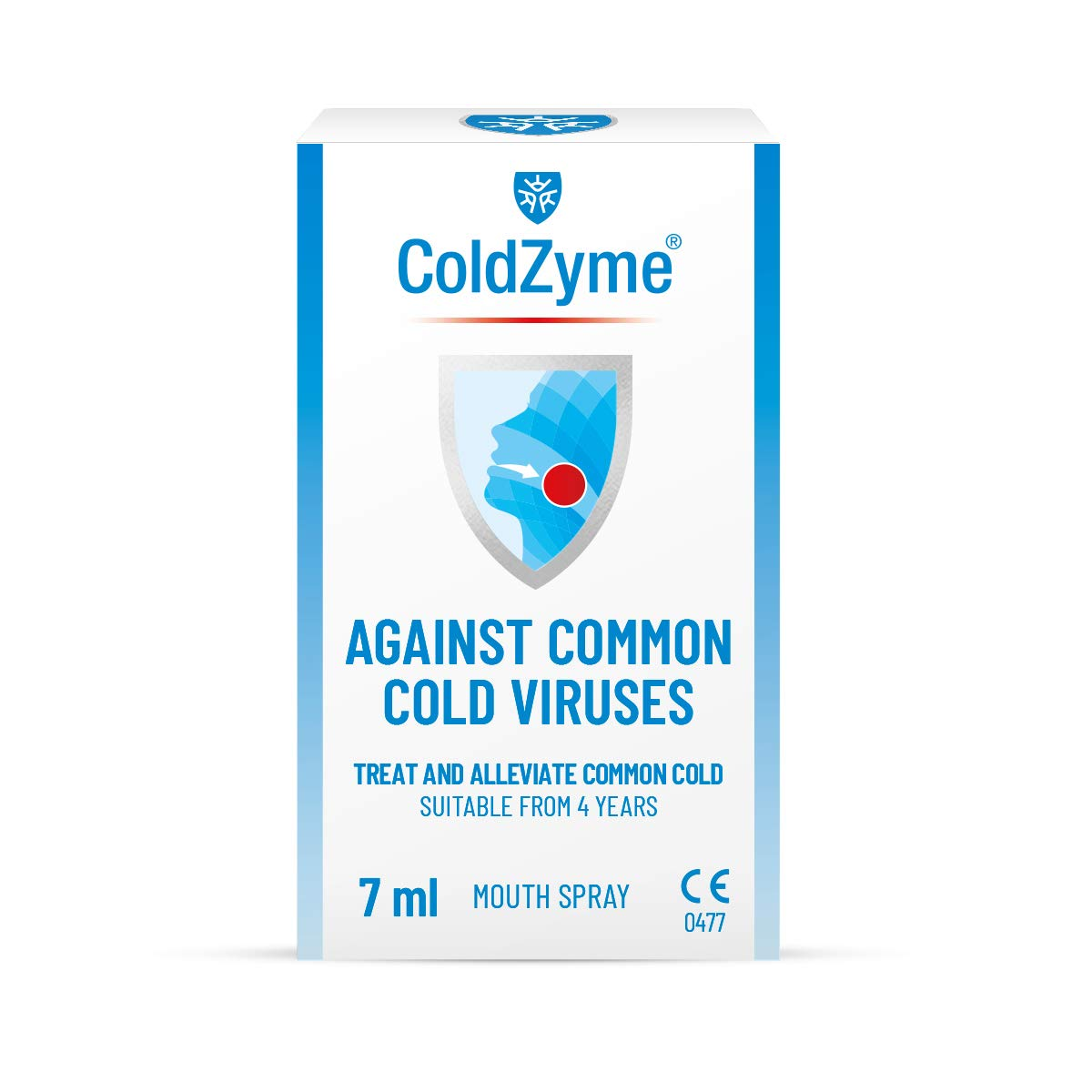 ColdZyme Mouth & Throat Spray (Not Nasal Spray) | Cold Virus Treatment, Alleviation and Protection | 7ml Pack - Menthol Flavour