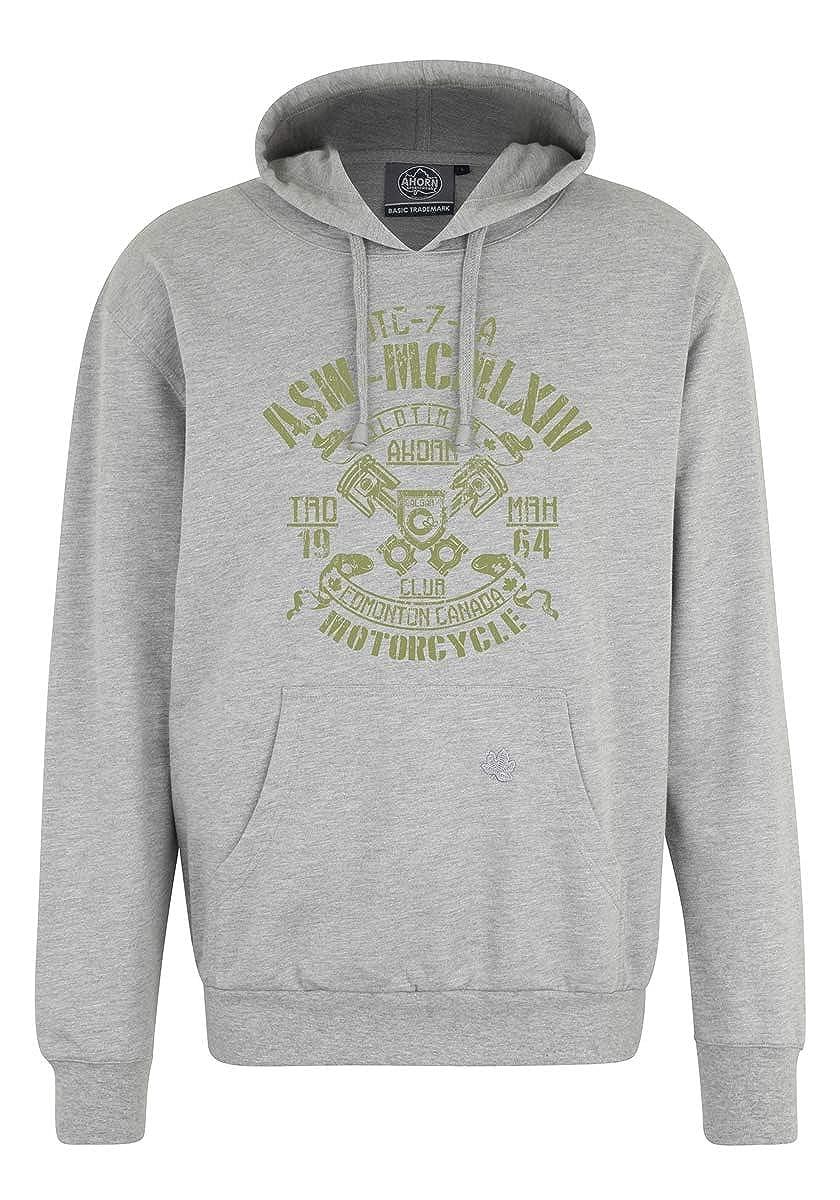 Ahorn Sportswear Übergrößen   Kapuzen Sweatshirt Oldtimer in 2 Farben 3XL-10XL