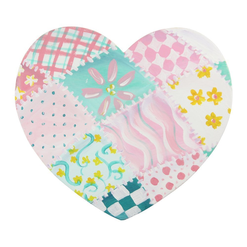 Wooden Hearts Shapes 11-1//4 x 10 x 1//8 Inch Ready to Paint and Decorate Valentines Craft by Woodpeckers Plain Smooth Bag of 3 Unpainted Large Wood Heart Cutout Shapes DIY and Craft Projects