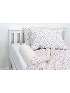 Regalo Extra Long Toddler Bed Rail Bumper Foam Safety Guard For Bed, Bonus Kit, Includes Waterproof Cover And Reinforced Anchor Safety System, White