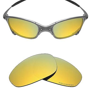 0f28ebd05bd44 Mryok+ Polarized Replacement Lenses for Oakley Juliet - 24K Gold ...