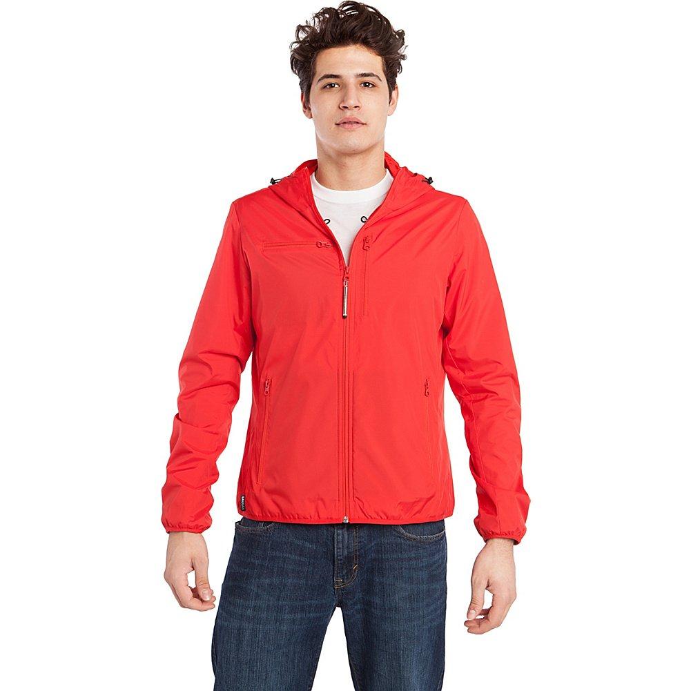 Baubax Travel Jacket - Windbreaker - Male - Red - Medium