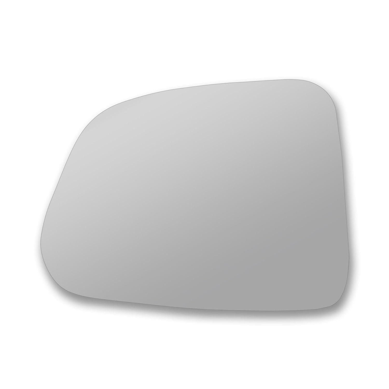 Vetro vero porta bastone specchio di ricambio lato passeggero Quick Fix argento # vamo-12//16-l /_ C Lato sinistro specchietto Vamok