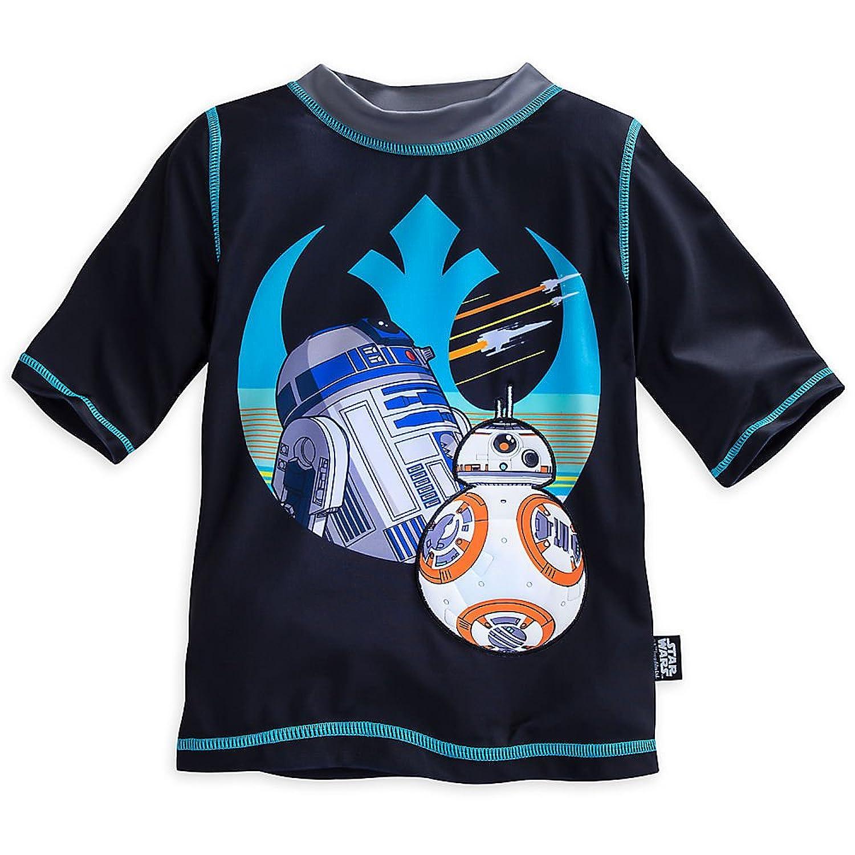 Star Wars: The Force Awakens Rash Guard for Boys Black