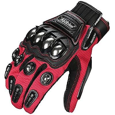ILM Alloy Steel Bicycle Motorcycle Motorbike Powersports Racing Gloves