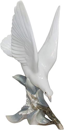 Lladro Turtle Dove Collectible Figurine 4550 Retired Glazed Finish