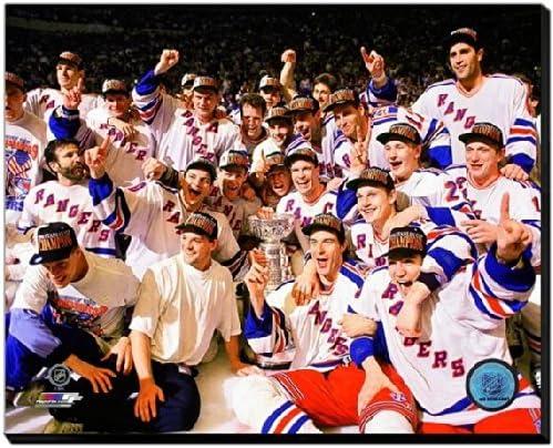 New York Rangers 1994 Stanley Cupフォト(サイズ: 32 cm x 40 cm )フレーム