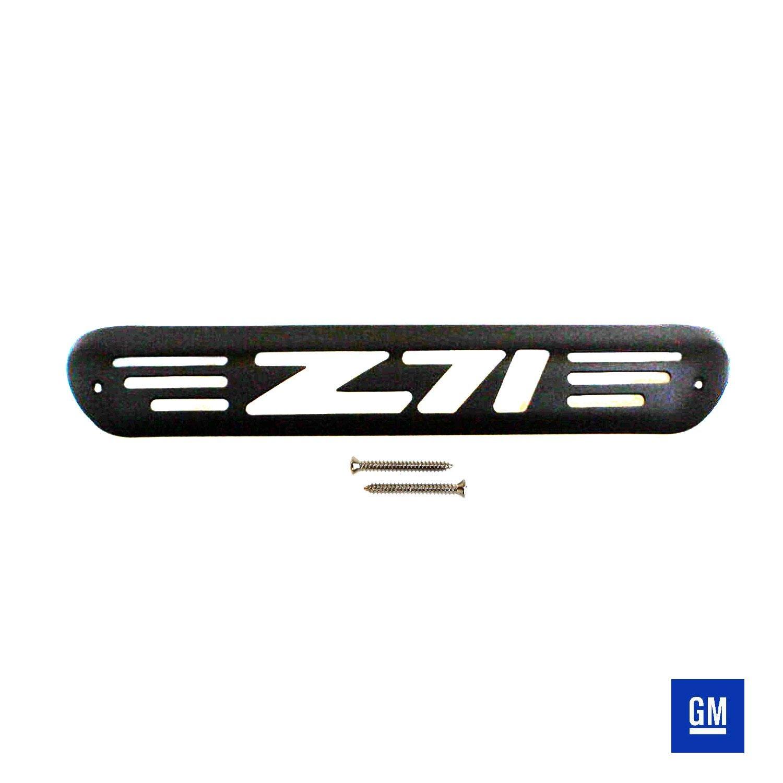 All Sales 42000K Black Billet Aluminum 3rd Brake Light Cover