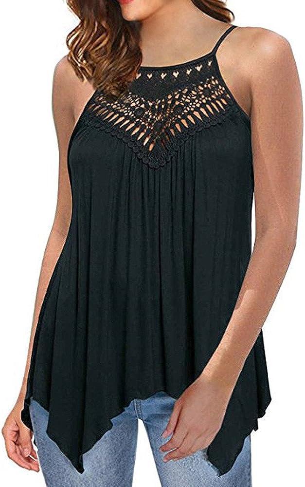 VRTUR Camisa Elegante de Mujer Blusas Casuales de Las Mujeres de Encaje Fuera del Hombro Blusa Suelta de Manga Larga (Negro, S): Amazon.es: Ropa y accesorios