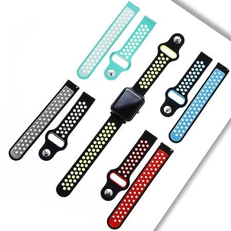 Amazon.com : Hacloser 20mm Universal Smart Watch Band ...