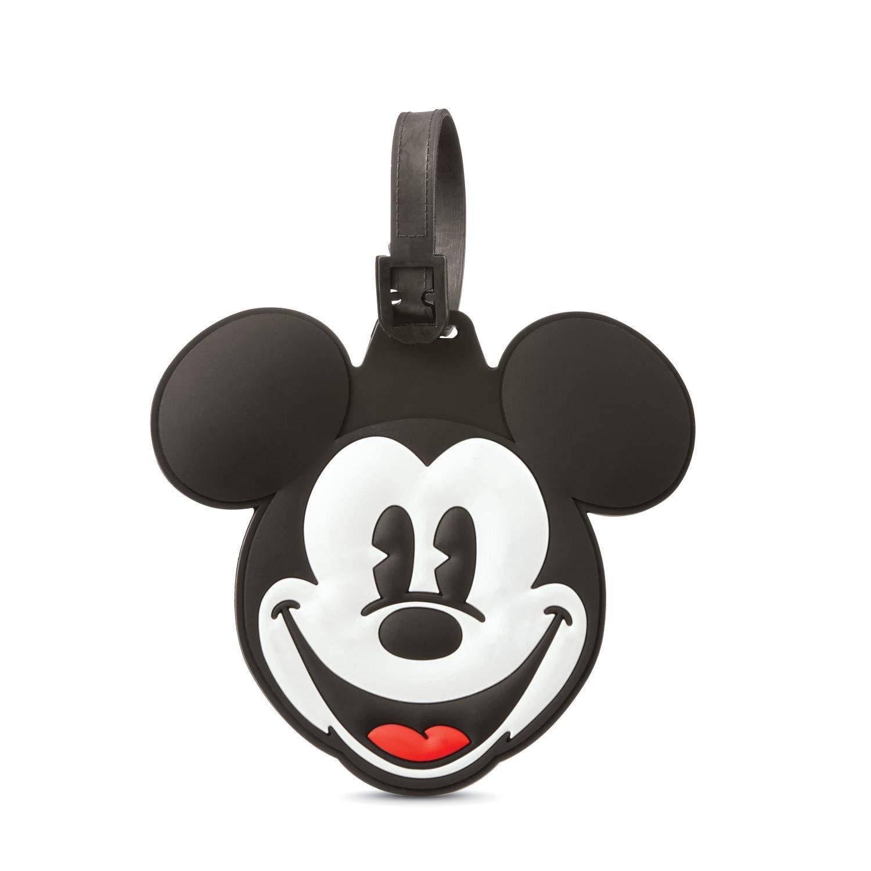 American Tourister Disney Luggage Tag Mickey /& Minnie Kiss
