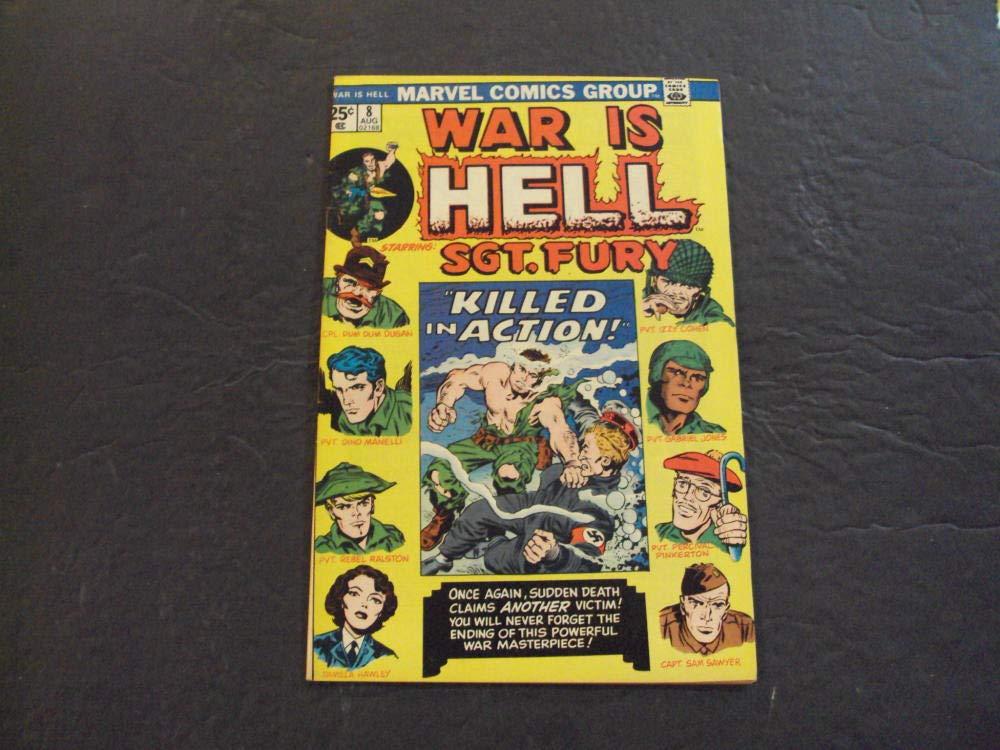 Amazon.com: 2 Iss War Is Hell #7-8 Jun,Sep 1974 Bronze Age ...