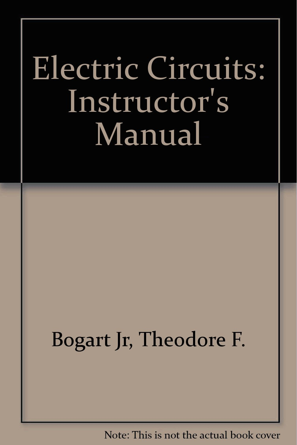 Buy Electric Circuits: Instructor's Manual Book Online at Low Prices in  India | Electric Circuits: Instructor's Manual Reviews & Ratings - Amazon.in