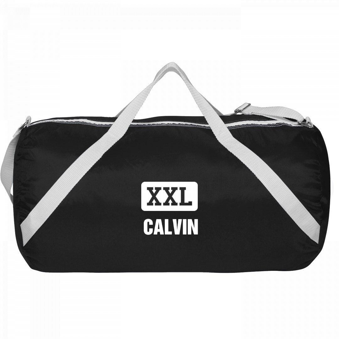 Athletic Gym Bag Calvin: Sport Roll Liberty Bag by FUNNYSHIRTS.ORG