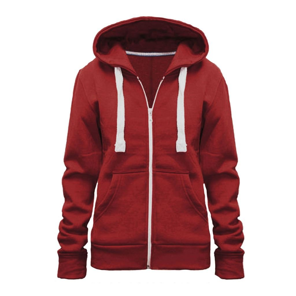 Vanilla Inc© New Plus Size Hoodie Ladies Womens Zip Zipper Hooded Jacket Coat Top Hoody 8-28 United Kingdom