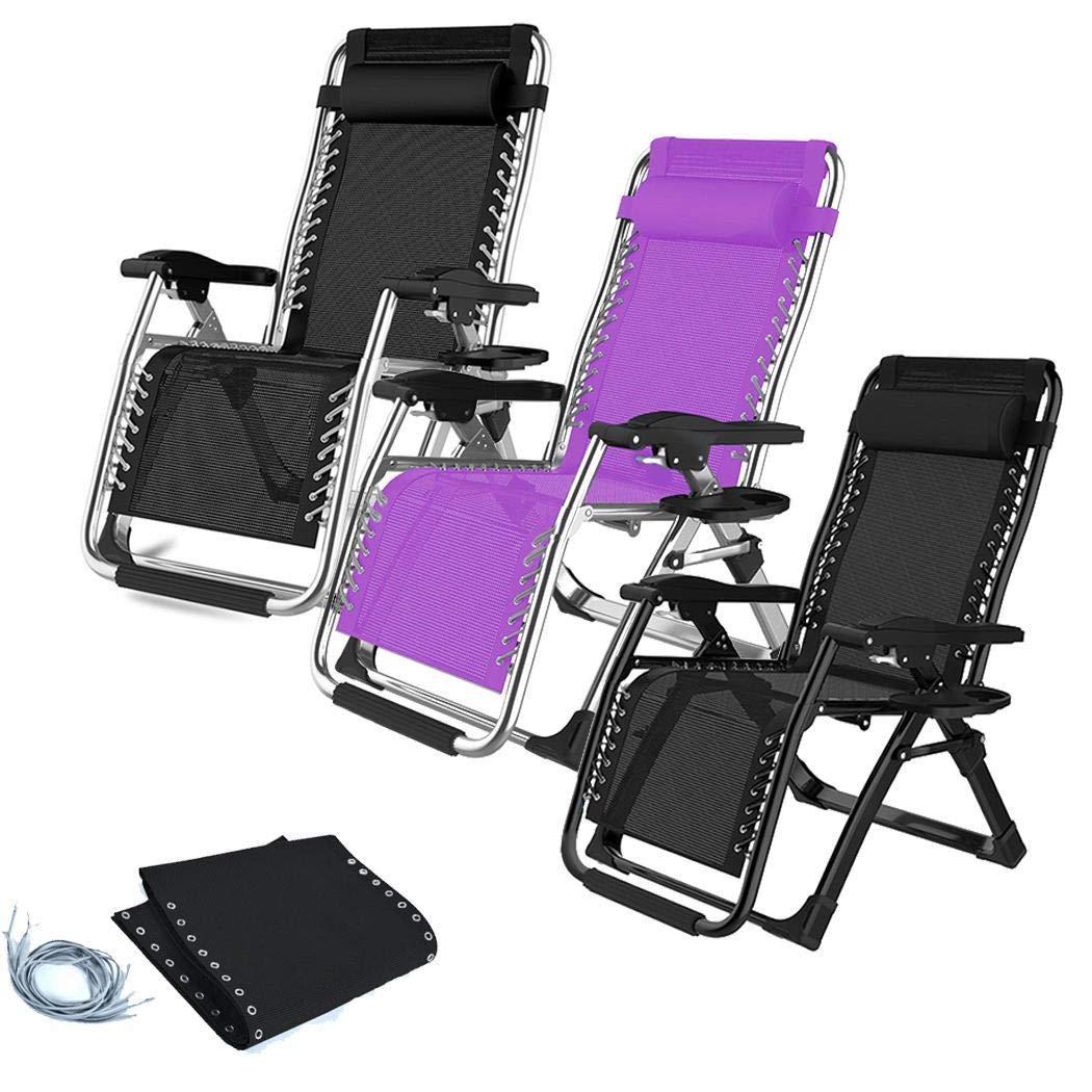 Zuionk - Silla Plegable Ajustable para Oficina, sillón de Playa ...