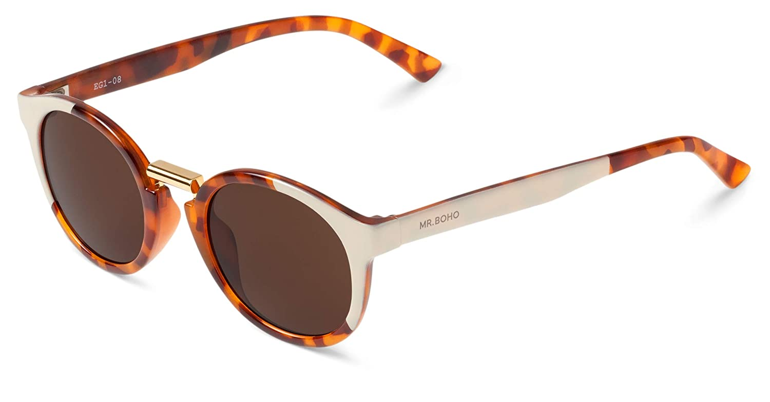 MR.BOHO, Cream/leo tortoise fitzroy with classical lenses ...
