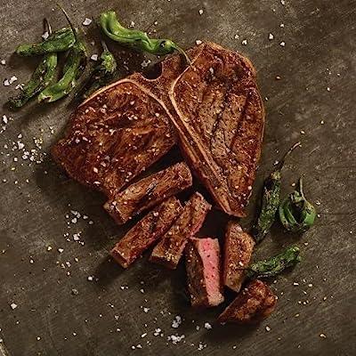 Omaha Steaks 2 (24 oz.) T-Bone Steaks + Seasoning