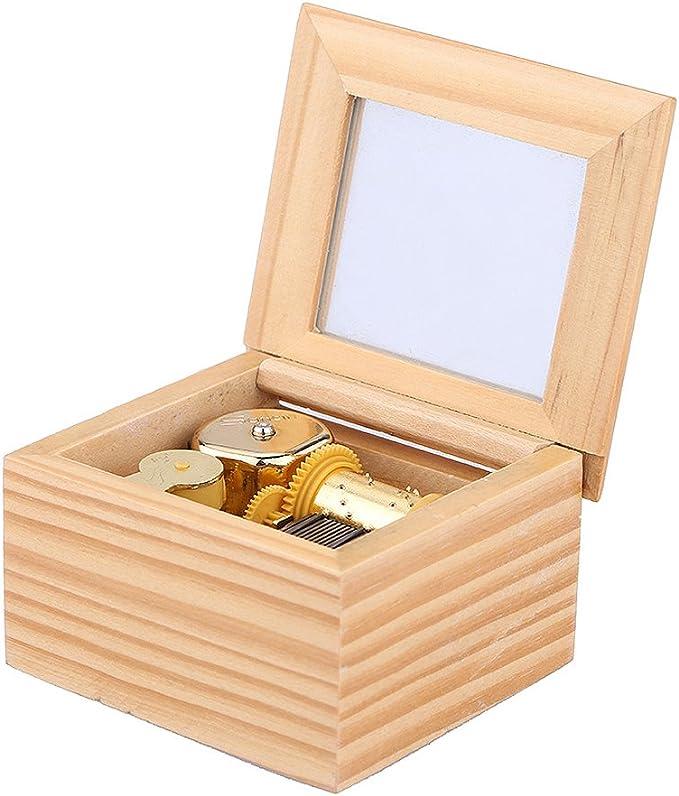 ammoon Acabar Caja Musical Piezas del Mecanismo de Oro Caja de ...