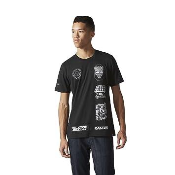 Adidas Hombre Gasius 1 Real Madrid CF Camiseta, Hombre, Gasius 1, Black/
