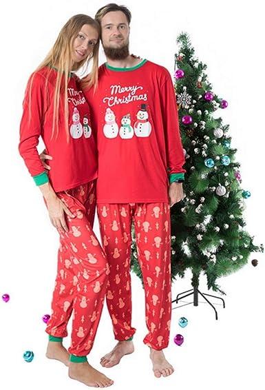 Shujin Pijama de Navidad, Familia de Pijamas, Conjunto de ...