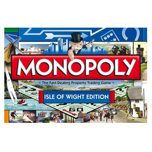 Monopoly Isle Of Wight Edition WM016759