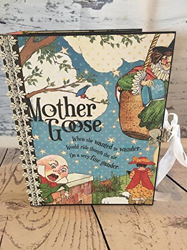 Handmade Mother Goose Nursery Rhythms Child Photo Album by Artsy Creativities