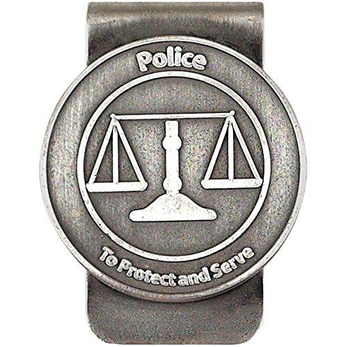 Policeman's Money Clip Silver Pewter (Police Clip Money)