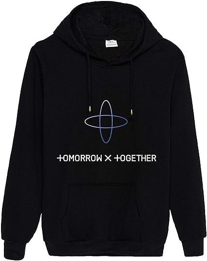 Kpop TXT Hoodie Sweater Soobin Taehyun Kai Yeonjun Beomkyu Hooded Shirt