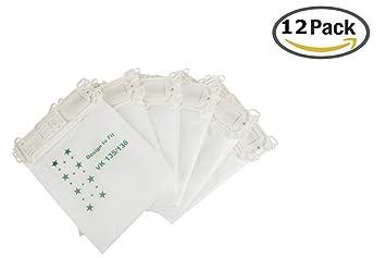 18 Staubsaugerbeutel Papier passend für Vorwerk Kobold VK 135 VK 136 4 Filter