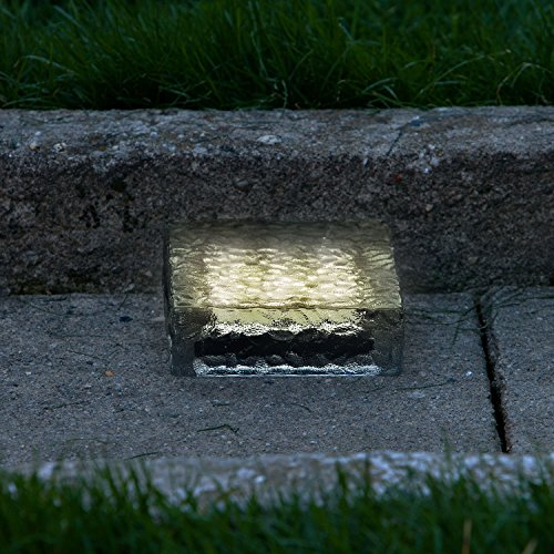 Glass Block Landscape Lights