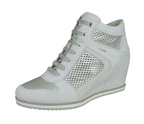 Geox D Illusion B, Zapatillas Altas para Mujer: Amazon.es: Zapatos y complementos