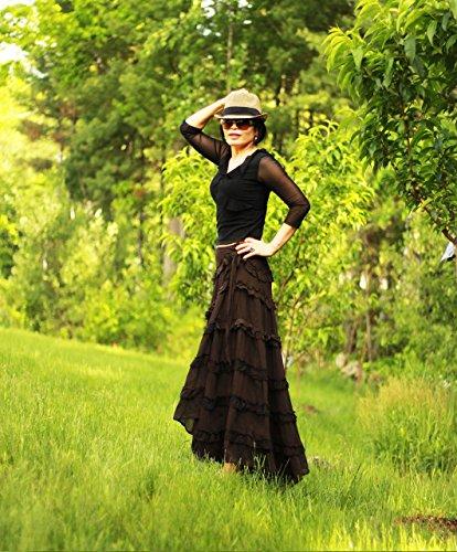 skirt for women warp maxi skirt by mirimiri