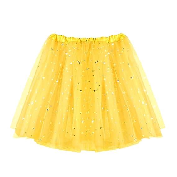 2a90960b1 Mini Falda De Danza Ballet Mujer LHWY, Faldas De Estrellas Estampado ...