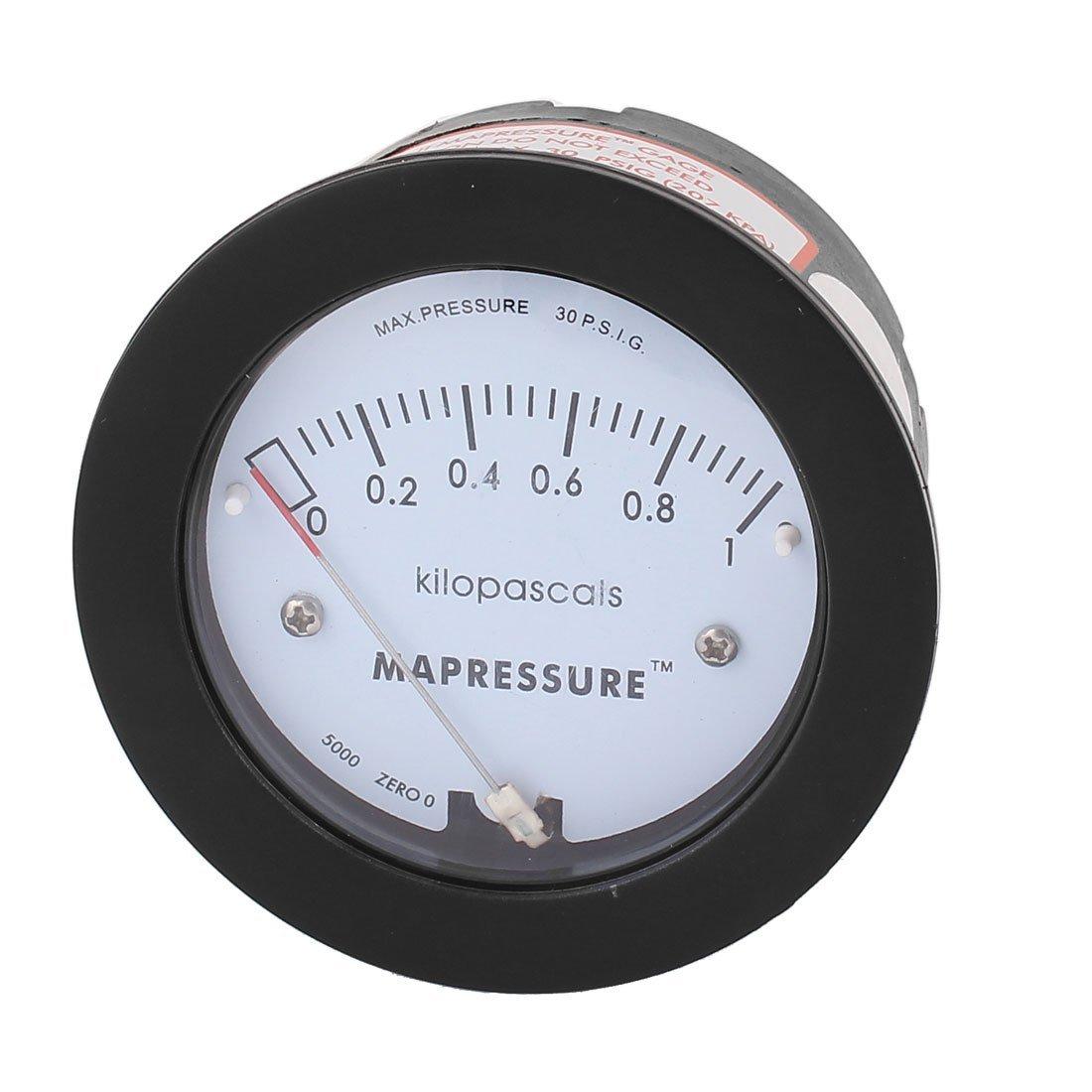 Serie 5000 0-1KPa 30 PSIG Differenzdruckmessgerät Meter DealMux