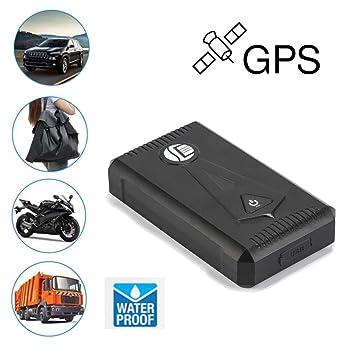 Gps Car Tracker >> Amazon Com Gps Tracker Tuscom Waterproof Tk800 Gps Car Tracking